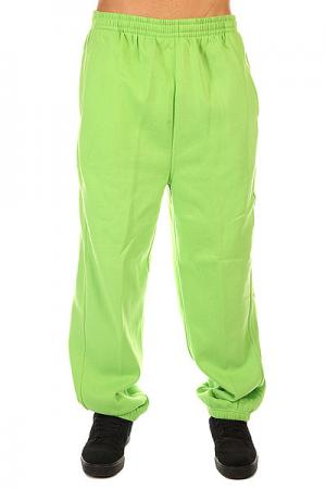 Штаны широкие  Sweatpants Limegreen Urban Classics. Цвет: зеленый