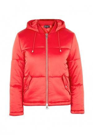 Куртка утепленная Topshop. Цвет: красный