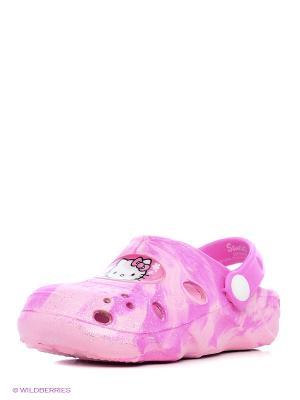 Сабо Hello Kitty. Цвет: розовый, фуксия