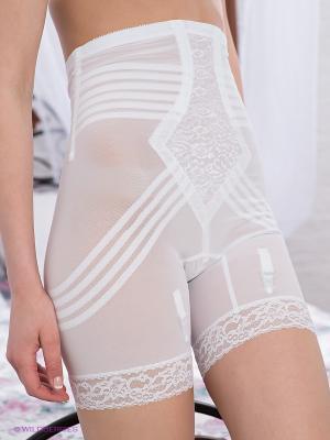 Корректирующие шорты Rago. Цвет: белый