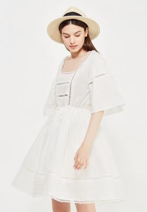 Платье Care of You. Цвет: белый