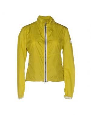 Куртка ADHOC. Цвет: кислотно-зеленый