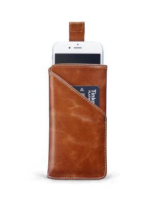 Чехол для iPhone 6/6s ZAVTRA. Цвет: коричневый