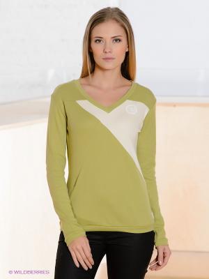 Пуловер Formalab. Цвет: зеленый