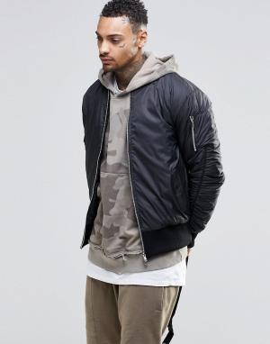 Other UK Куртка-пилот. Цвет: черный