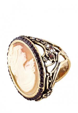 Кольцо Alcozer&J. Цвет: золотой