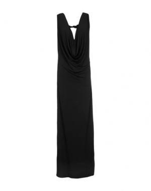 Длинное платье SEN. Цвет: зеленый