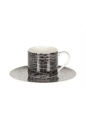Кофейный набор Royal Porcelain. Цвет: молочный