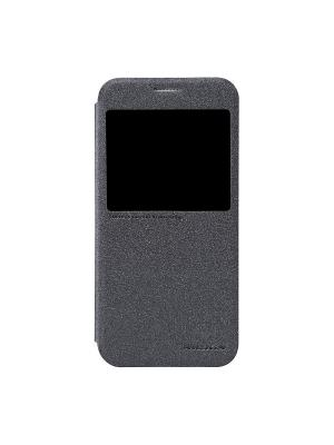 Samsung Galaxy S6 Nillkin Sparkle leather case. Цвет: черный