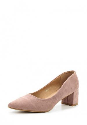 Туфли Benini. Цвет: розовый