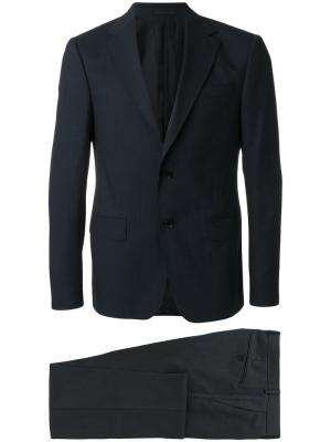 Формальный костюм-двойка Z Zegna. Цвет: синий