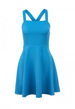 Платье Catwalk88. Цвет: голубой