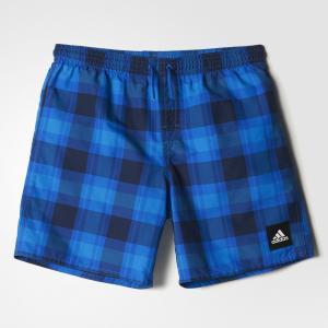 Пляжные шорты Checked Water  Performance adidas. Цвет: синий