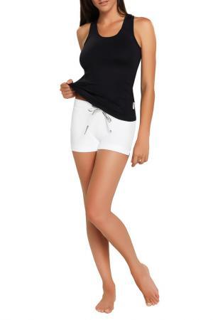 Спортивные шорты GWINNER. Цвет: белый