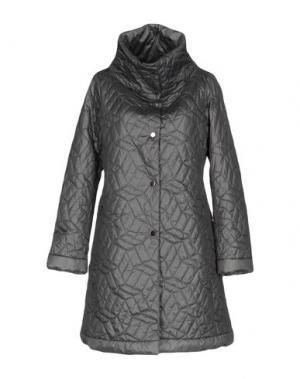 Легкое пальто BRUNO MANETTI. Цвет: свинцово-серый