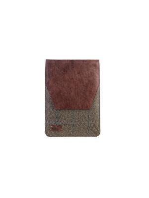 Папка YORK р3N 10твид/кожа/нубук коричневый INTERSTEP. Цвет: коричневый