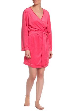 Халат Del Fiore. Цвет: розовый