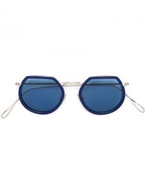 Солнцезащитные очки Pierre Kyme. Цвет: синий