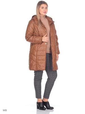 Пальто CATTAIL WILLOW. Цвет: бронзовый