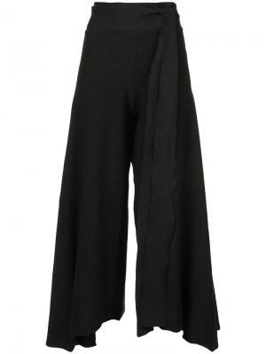 Расклешенные брюки Baja East. Цвет: чёрный