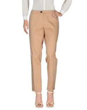 Повседневные брюки EMME by MARELLA. Цвет: песочный