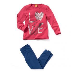 Пижама из джерси SNOOPY. Цвет: красный