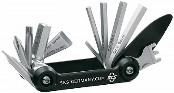 Мультиключ  TOM, 14 функций SKS