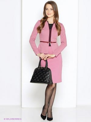 Жакет DEVORE. Цвет: розовый
