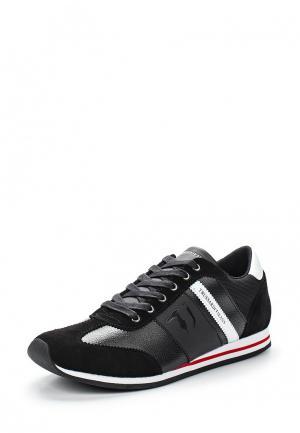 Кроссовки Trussardi Jeans. Цвет: черный