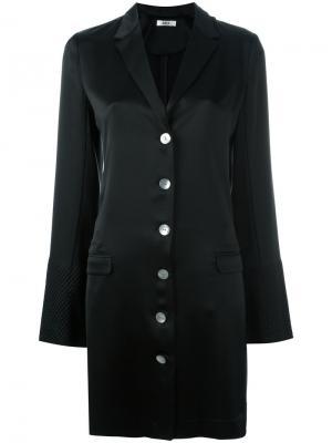 Двубортное пальто A.P.C.. Цвет: синий