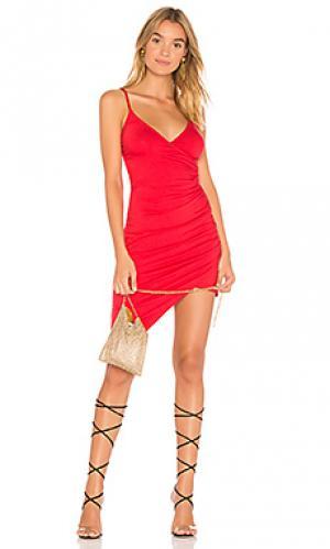 Платье с запахом lottie Clayton. Цвет: красный