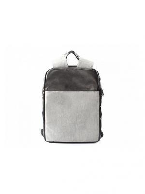 Минималистичный рюкзак ZAVTRA для ноутбука (до 13 дюймов). Цвет: черный, серый