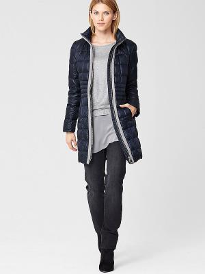 Пальто S.OLIVER. Цвет: темно-синий