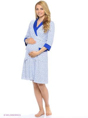 Комплект одежды EUROMAMA. Цвет: синий