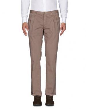 Повседневные брюки FUTURO. Цвет: хаки