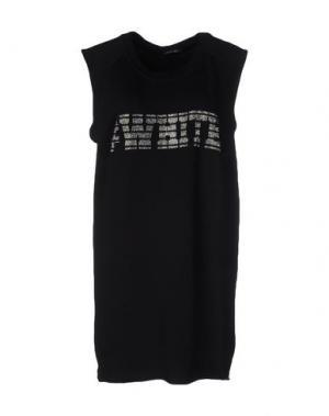 Короткое платье ODI ET AMO. Цвет: черный