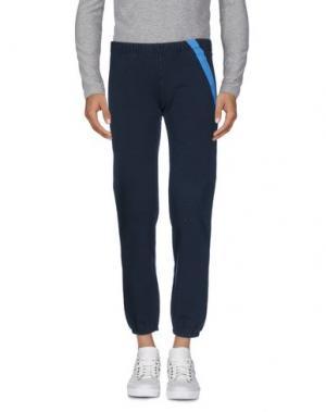 Повседневные брюки VIRTUS PALESTRE. Цвет: темно-синий
