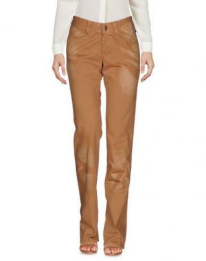 Повседневные брюки JEAN PAUL GAULTIER. Цвет: верблюжий
