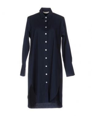 Платье до колена GUGLIELMINOTTI. Цвет: темно-синий