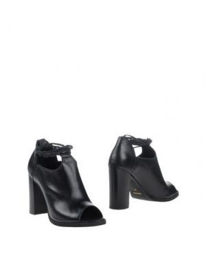 Ботинки UNLACE. Цвет: черный