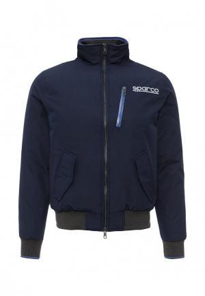 Куртка утепленная Sparco. Цвет: синий