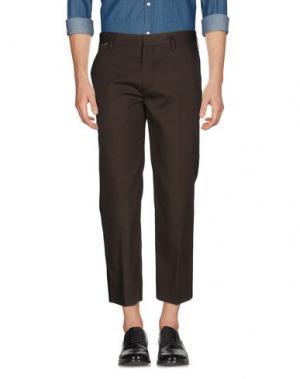 Повседневные брюки MARC JACOBS. Цвет: темно-зеленый