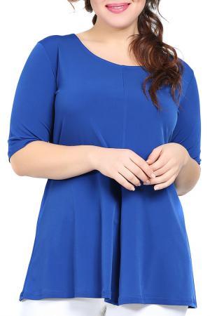 Блуза VALERIA FRATTA. Цвет: синий