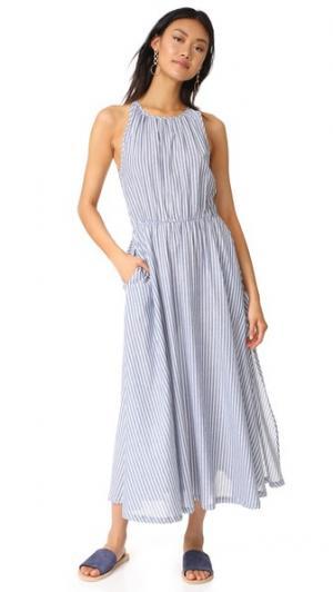 Платье Capri RUKEN. Цвет: синий/белая лужайка в полоску