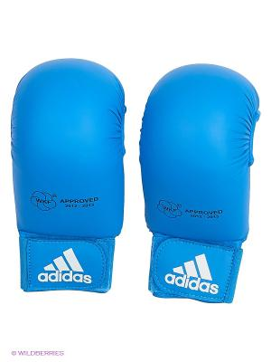 Накладки для карате WKF Bigger Adidas. Цвет: синий