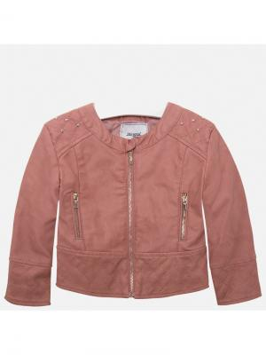 Куртка Mayoral. Цвет: рыжий