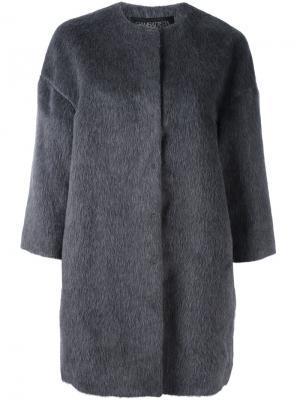 Пальто с широкими рукавами Giambattista Valli. Цвет: серый