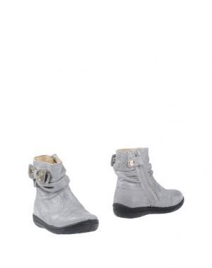 Полусапоги и высокие ботинки FALCOTTO by NATURINO. Цвет: светло-серый