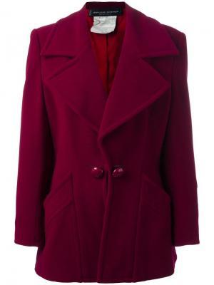Пиджак мешковатого кроя Jean Louis Scherrer Vintage. Цвет: розовый и фиолетовый