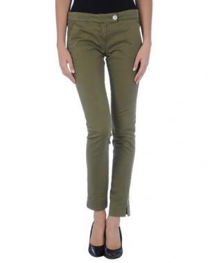 Повседневные брюки KAYLA. Цвет: зеленый-милитари